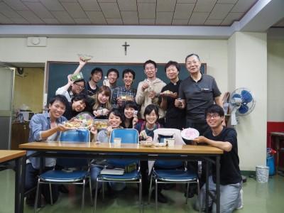 運営委員会後の写真